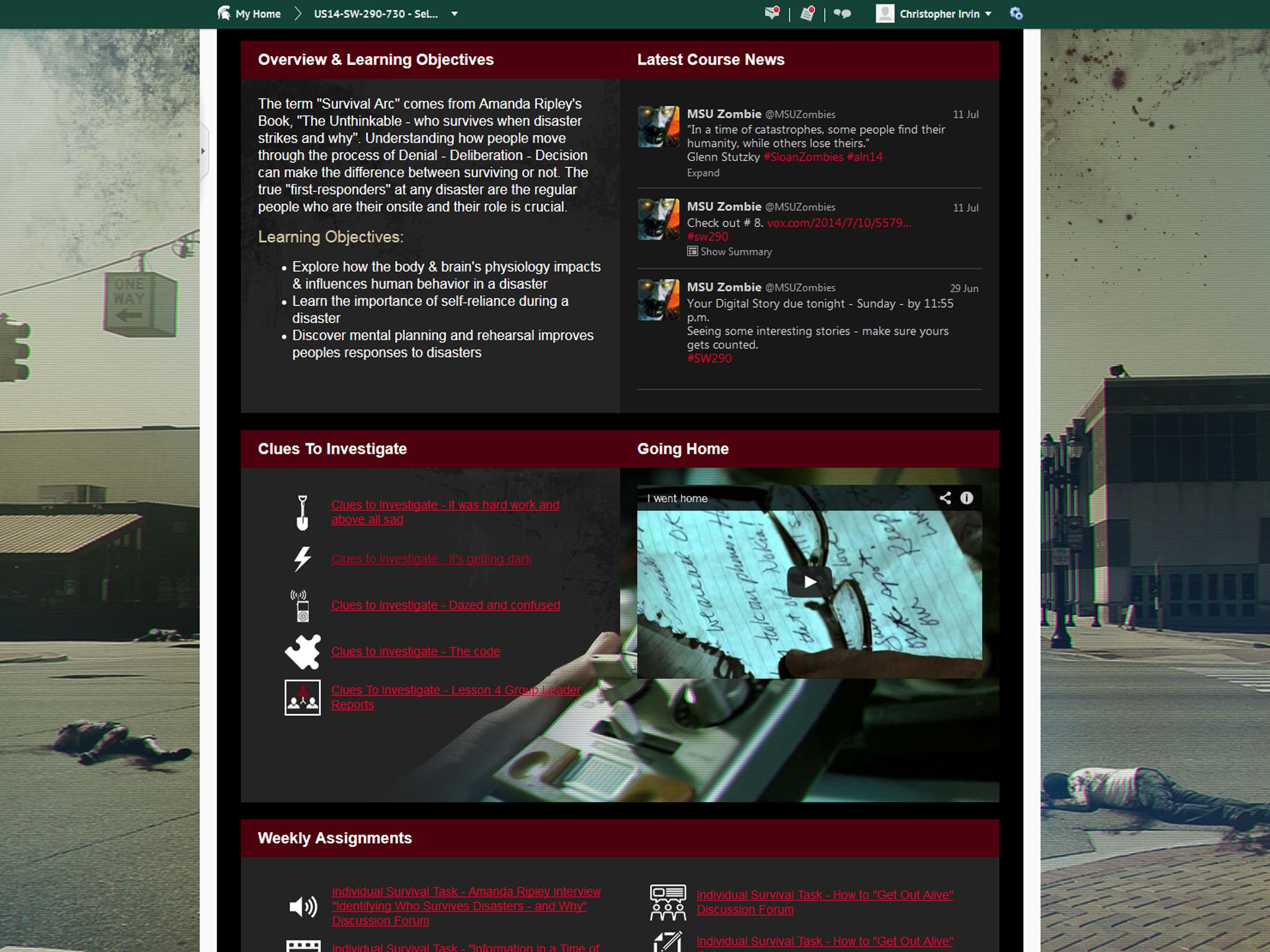 Slide - Course - Screenshot - Twitter 1